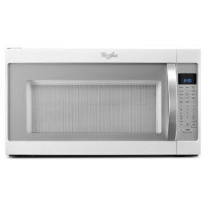 2.0 cu. ft. Capacity Steam Microwave With CleanRelease(R) Non-Stick Interior - WHITE ICE