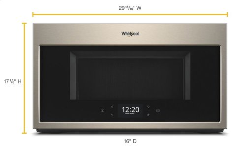 1.9 cu. ft. Smart Over-the-Range Microwave with Scan-to-Cook technology