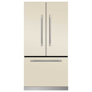 MarvelMarvel Mercury French Door Counter-Depth Refrigerator - Marvel Mercury French Door Refrigerator - Ivory