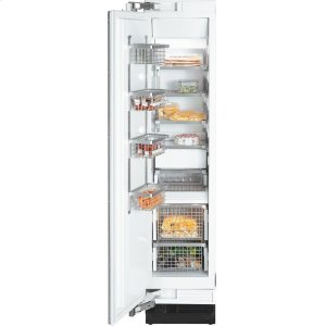 MieleF 1413 Vi MasterCool freezer with maximum storage space in the smallest space for optimum freezing.