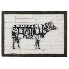Cow Wall Art I