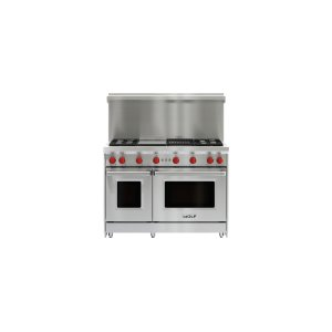 "Wolf48"" x 20"" Gas Range Riser With Shelf"