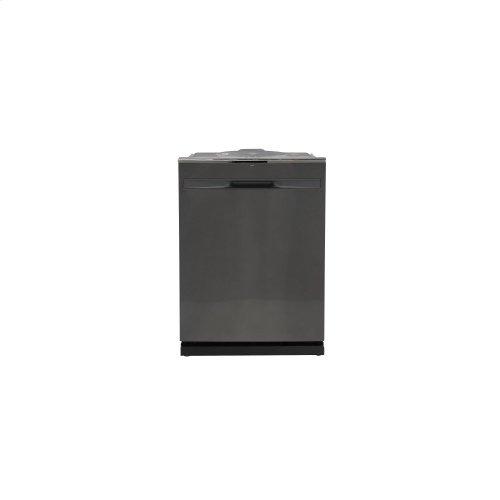 GE® Hybrid Stainless Steel Interior Smart Dishwasher with Hidden Controls