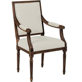 French Arm Chair Tobacco
