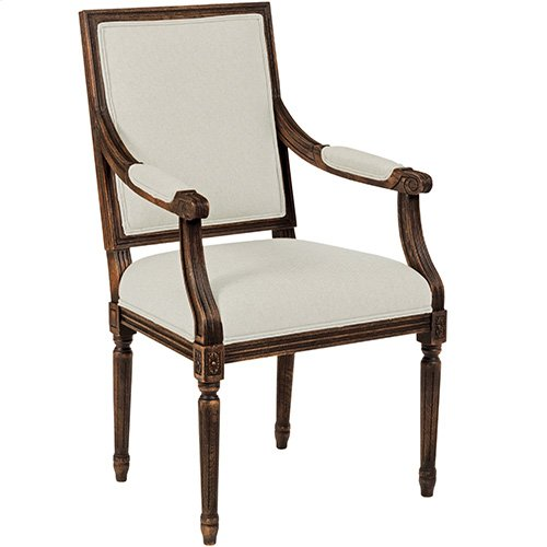 Artisans Shoppe French Arm Chair Tobacco