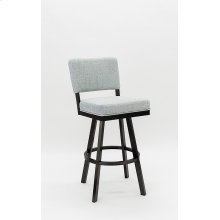 Miami Black Stainless Steel Bar Stool