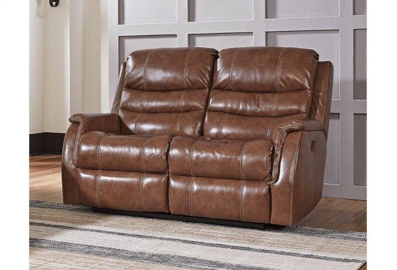 in by Ashley Furniture in Claflin KS PWR REC Loveseat ADJ