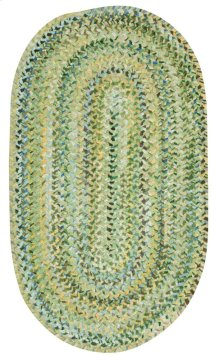 Grand-Le-Fleur Willow Green Braided Rugs