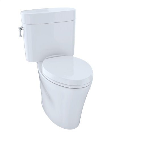 Eco Nexus® Two-Piece Toilet, 1.28 GPF, Elongated Bowl - Cotton
