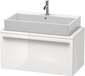 X-large Vanity Unit For Console Compact, White High Gloss (decor)