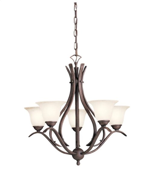 Dover Collection Dover 5 Light Chandelier - Tannery Bronze