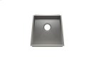 "Trapezoid 005003 - undermount stainless steel Kitchen sink , 17 1/4"" × 16"" × 8"" Product Image"