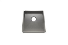 "Trapezoid 005003 - undermount stainless steel Kitchen sink , 17 1/4"" × 16"" × 8"""