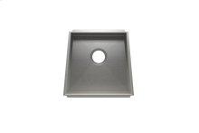 """Trapezoid 005003 - undermount stainless steel Kitchen sink , 17 1/4"""" × 16"""" × 8"""""""