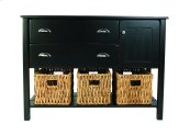 Yukon 2 Drawer Designer Chest, With Cubby And Shelf