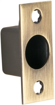 Sliding Pocket Door Edge Pull in (SB Shaded Bronze, Lacquered)