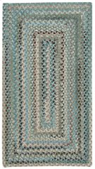 Mineral Grey Crystal Falls Concentric Rectangle Product Image