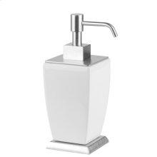 SPECIAL ORDER Freestanding liquid soap dispenser in ceramic