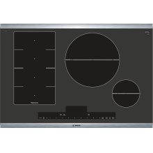 "Benchmark® 30"" Induction Cooktop, NITP068SUC, Black with Stainless Steel Frame"
