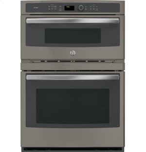 "GE Profile™ Series 30"" Built-In Combination Convection Microwave/Convection Wall Oven Product Image"