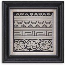 Ornamental Tile Motif III Wall Art