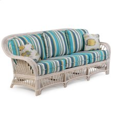 Rattan Sofa Whitewash 4403