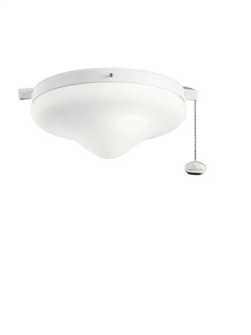 Outdoor Fan Light Kit White