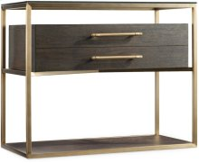 Curata One-Drawer Nightstand