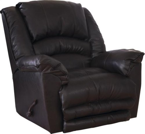 Chaise Rocker Recliner - Oversized X-tra Comfort Footrest - Godiva