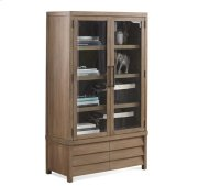 Mirabelle Cabinet Bookcase Ecru finish Product Image