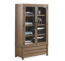 Mirabelle Cabinet Bookcase Ecru finish