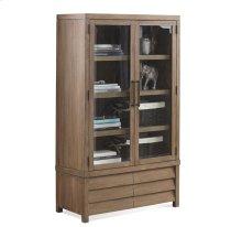 Mirabelle Cabinet Bookcase Ecru finish