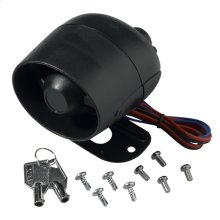 Battery back-up siren