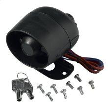 Battery back-up siren