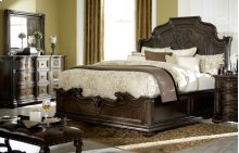 La Bella Vita Sleigh Bed - Queen