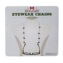 Christmas Eyewear Chains Sign.