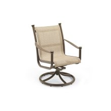 Outdoor High Back Swivel Tilt Chair