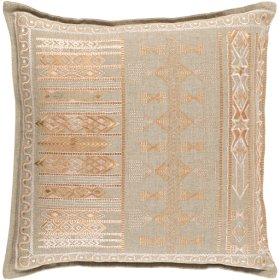 """Jizera JIZ-001 18"""" x 18"""" Pillow Shell with Polyester Insert"""
