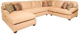 Henson LAF One Arm Chaise, Henson Armless Loveseat, Henson RAF Corner Sofa