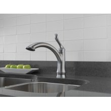 Arctic Stainless Single Handle Kitchen Faucet