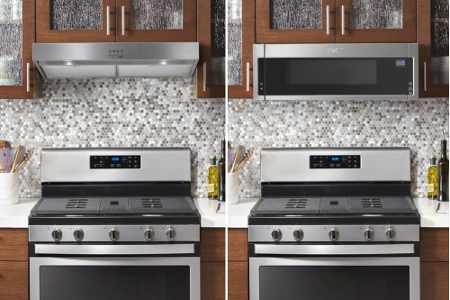 "30"" Range Hood with Dishwasher-Safe Full-Width Grease Filters"