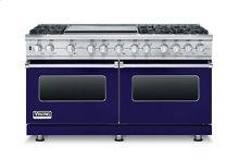 "60"" Custom Sealed Burner Dual Fuel Range, Natural Gas"
