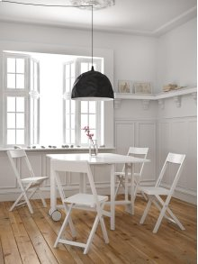 S/5 Table W/4 Chairs