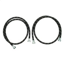 5' Industrial Grade Nylon Braid Fill Hoses - 2 Pack