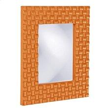 Justin Mirror - Glossy Orange