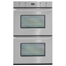 Brushed Stainless Steel Double Oven Built In Oven