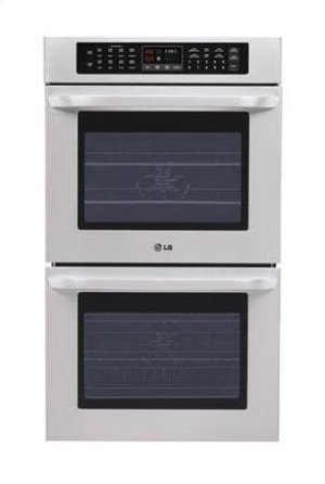 """4.7(x2) cu.ft. Capacity 30"""" Built-in Double Wall Oven with Crisp Convection Product Image"""