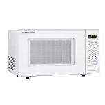 1.1 Cu. Ft. 1000w Sharp Countertop White Microwave