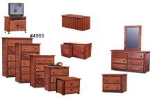 Jumbo Five Drawer Chest
