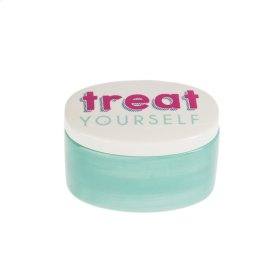 """Treat Yourself"" Oval Treasure Box"